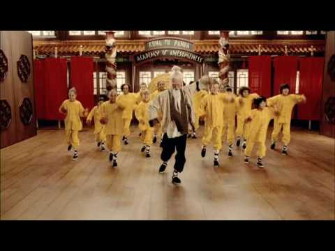 Cee Lo Green & Jack Black - Kung Fu Fighting video