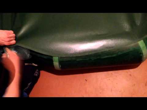 Ремонт днища надувной лодки своими руками 10