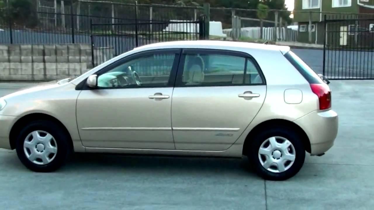 Toyota Corolla 2010 Model >> Toyota Corolla Runx 2001, 81km, 1.5L, Auto - YouTube