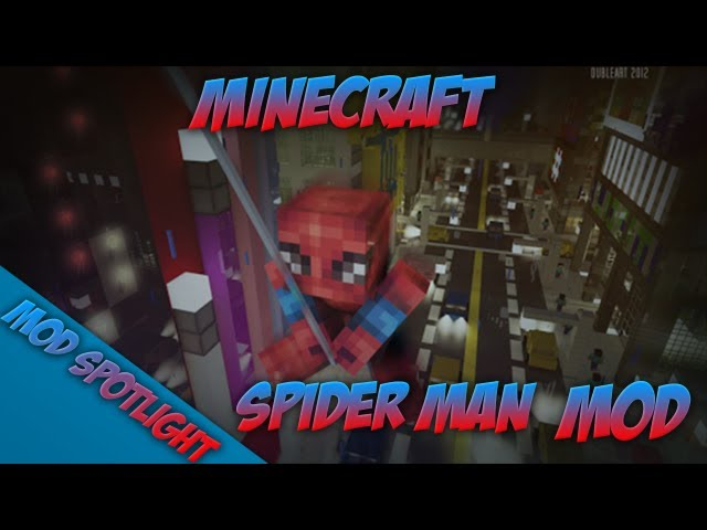 Minecraft Mod Spotlight!: SPIDER MAN MOD[1.6.2] - W/SPIDERS!