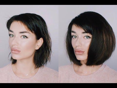 Как сделать волосы объемными короткие