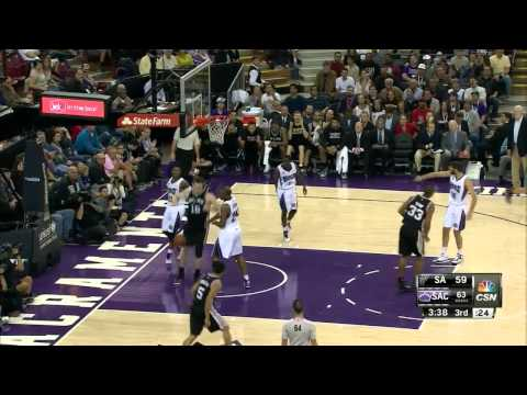 MammaMia-1 2014-2015 Offense Mix for San Antonio Spurs