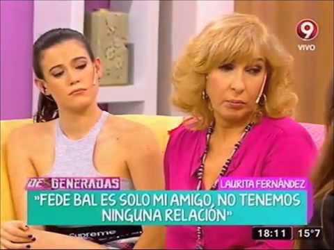 Laurita Fernández explicó el WhatsApp que inició el escándalo entre Fede Bal y Barbie Vélez
