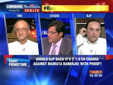 The Newshour Debate: Modi-Mamata aggression - Part 1 (28th April 2014)