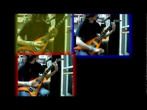 We're Not Gonna Fall Children of Bodom cover w/ solo [ALeXi]
