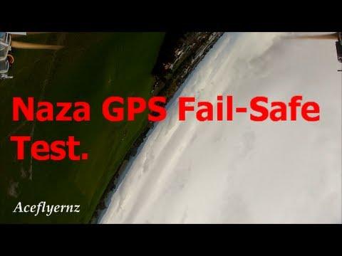 DJI Naza gps fail-safe  RTH + Flips & Rolls.