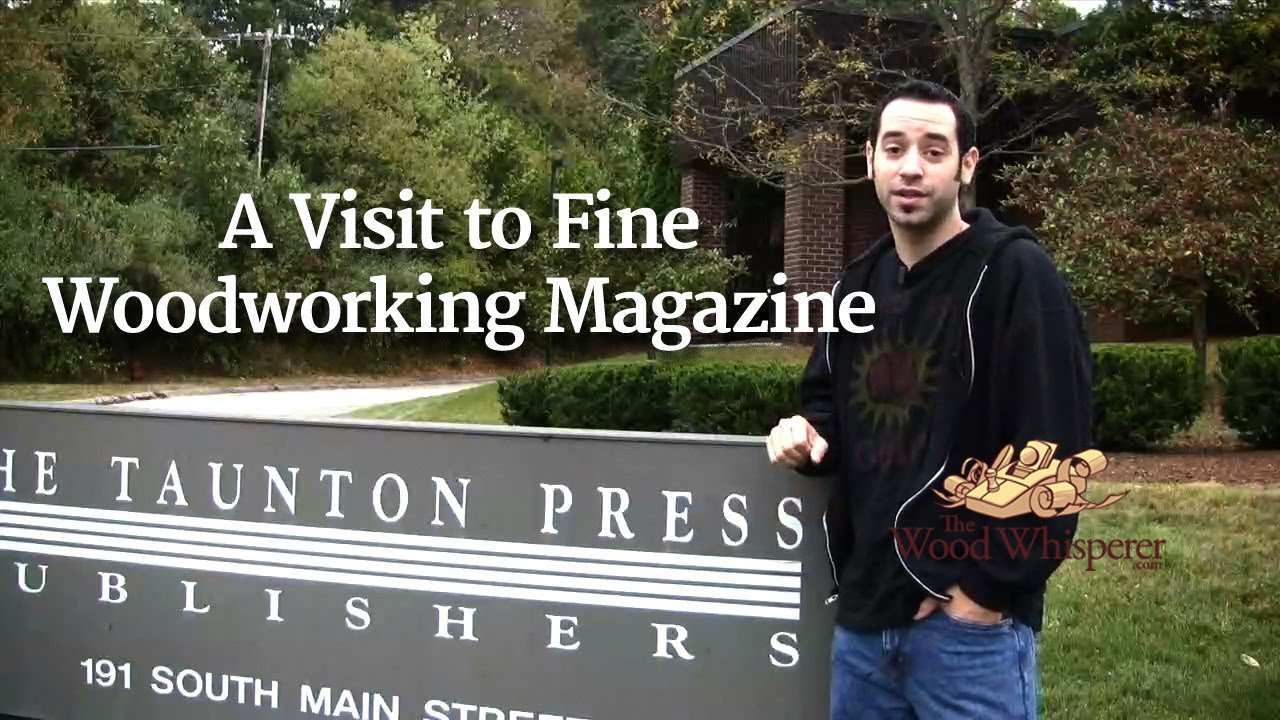 35 - A Visit to Fine Woodworking Magazine - YouTube