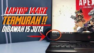 Laptop Gaming  Layar 144HZ terMURAH | Desain Premium Harga Minimum | Review Lengkap HP OMEN 15 2019