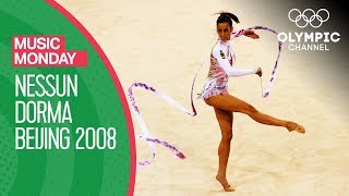 Almudena Cid Performs Rhythmic Gymnastics to Nessun Dorma at Beijing 2008  Music Monday