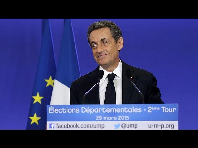 Success for Sarkozy as France swings to the right in local elections