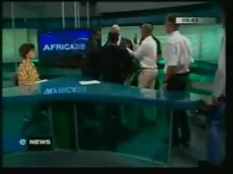 South African White Supremacist Threatens Black Female News Reporter
