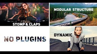 Rhythmic Slides and Typo - After Effects Template - Videohive
