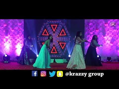 Kal Ho Naa Ho - Maahi Ve Video | Wedding Dance I Krazzy Group