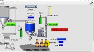 Embotelladora con labview