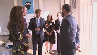 Harry joins William and Kate to speak out on mental health