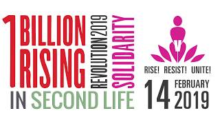 Join us for One Billion Rising in Second Life 2019!