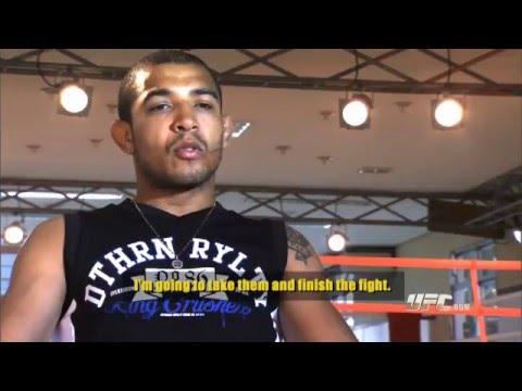 UFC 136: Jose Aldo Pre-fight Interview