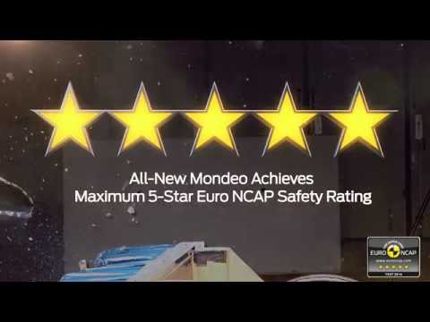 All-New Ford Mondeo Achieves Maximum 5-Star Euro NCAP Safety Rating