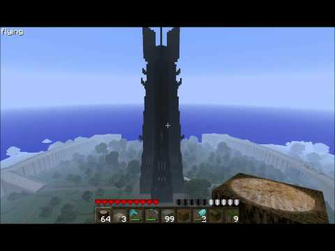 Minecraft - Isengard (part 3, completed)