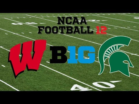 Big Ten Championship: NCAA Football 12: Wisconsin vs. Michigan State