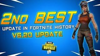 BEST INSANE OMG UPDATE in Fortnite Battle Royale