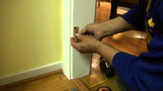 How To Install A Swinging Door