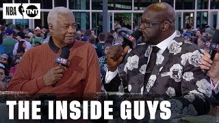 Oscar Robertson Joins Inside before Game 1 of the ECF | NBA on TNT