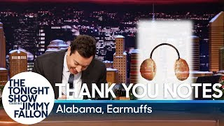 Thank You Notes: Alabama, Earmuffs