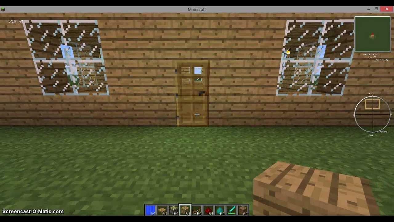 Как сделать ловушку для монстров в Minecraft 1.5.2 - YouTube