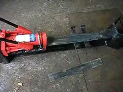 harbor freight manual wood splitter