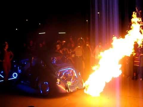 Vochito quemandose