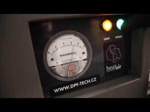 Renovace DPF - �e�en� probl�mu s filtry pevn�ch ��stic