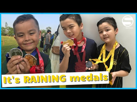 It's RAINING medals VLOG69