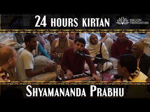 Iskcon Vrindavan 24 Hours Kirtan (shyamananda Prabhu) video