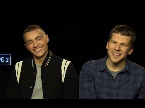 PART ONE - Jesse Eisenberg addresses Dave Franco's biggest fear #NowYouSeeMe2 interview