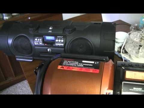The Great BASS OFF! Pioneer Steez VS. Sharp GX-M10 VS. JVC RV-NB1 Kaboom