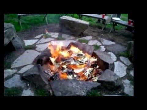 Огонь камень своими руками 200