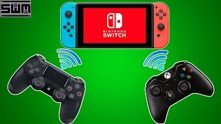 Easy Way To Use Your PS4/Xbox One Controller On Your Nintendo Switch Wireless