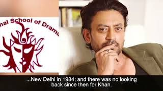 Irrfan Khan Biography | Best Of Bollywood, Hollywood Actor | Jaipur, Rajasthan