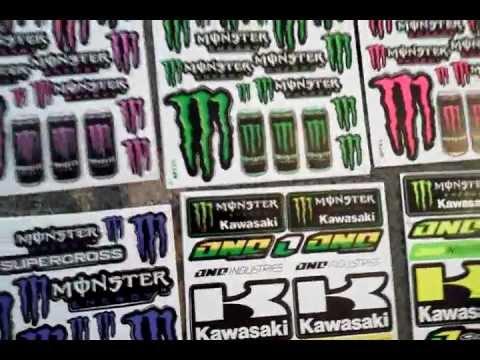 Green Monster Energy Drink Monster Energy Drink Stickers