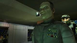 Mission 1: The pillar of autumn Halo combat evolved/Halo/terrifying gamer