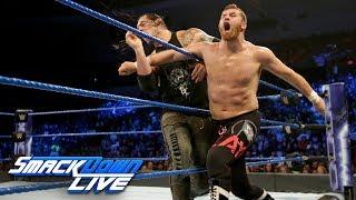 Sami Zayn vs. Baron Corbin: SmackDown LIVE, June 27, 2017