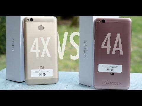 Xiaomi Redmi 4X Vs. Xiaomi Redmi 4A - Close Look & AnTuTu Comparison