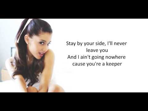 The way - Ariana Grande ft Mac Miller [Lyrics on Screen]