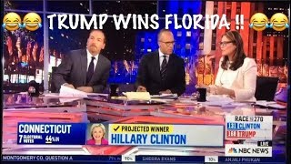 Trump wins Florida! *** Top 10 *** MOST enjoyable MSM reactions