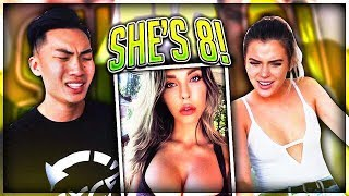 IMPOSSIBLE GUESS HER AGE CHALLENGE feat. Alissa Violet (We Failed..)