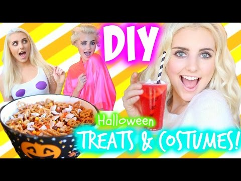 DIY Halloween Treats & Last Minute Costume Ideas! | Aspyn Ovard