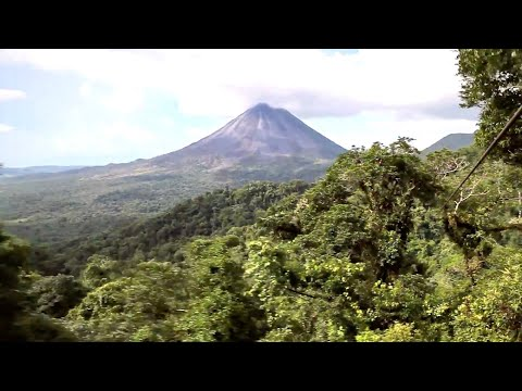 Costa Rica, from Volcanoes to Beaches in HD