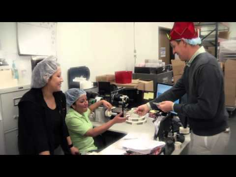 Giving Is Sweet - Hammond's Candies - The Colorado Lottery is celebrating the people who help make the holidays magical. And what would the holidays be without candy canes?