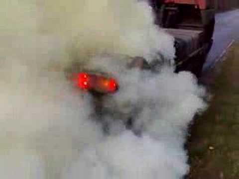 Szamotuły Palenie gumy VOLVO FH  380 KM